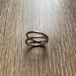 プラージュ(Plage)のSHENERY購入2連シルバーリングsilver925(リング(指輪))