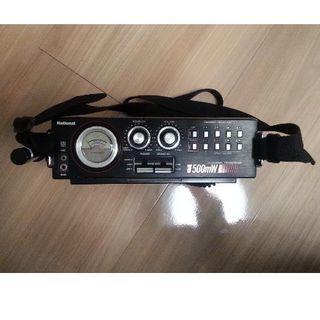 パナソニック(Panasonic)のRJ-580D ナショナル トランシーバ CB無線機(アマチュア無線)