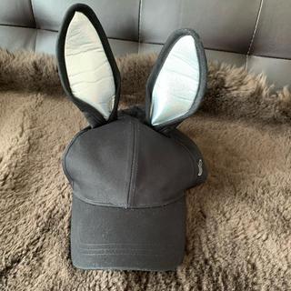 ディズニー(Disney)のディズニー耳付き帽子(キャップ)
