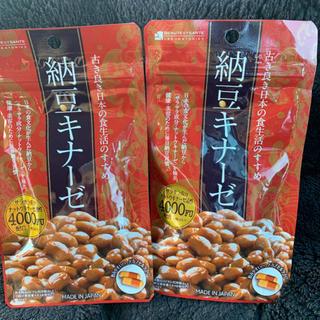 納豆キナーゼ  4000FU 2袋セット(その他)