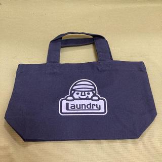 ランドリー(LAUNDRY)の非売品!新品!ランドリー ミニトートバッグ キャラクターロゴ付き ネイビー(トートバッグ)