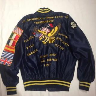 バズリクソンズ(Buzz Rickson's)の1987年 アメリカ軍 ツアーJKT スーベニアJKT ユーロボディミリタリー(スカジャン)
