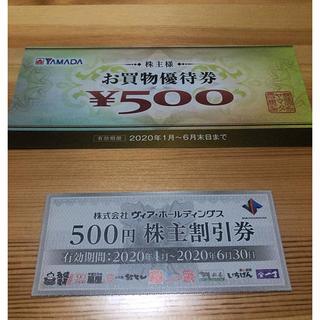 ヤマダ電機 ヴィアホールディングス 株主優待 セット(その他)