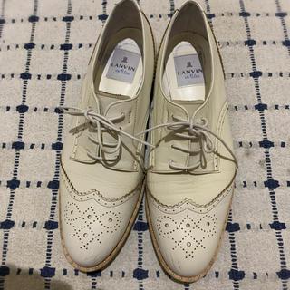 ランバンオンブルー(LANVIN en Bleu)のLANVIN en bleu オックスフォードシューズ(ローファー/革靴)