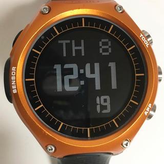 カシオ(CASIO)のカシオ CASIO 腕時計 スマートウォッチ WSDーF10RG オレンジ(腕時計(デジタル))
