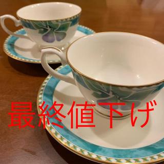 ミカサ(MIKASA)のミカサ mikasa カップ&ソーサー コーヒーカップ(グラス/カップ)