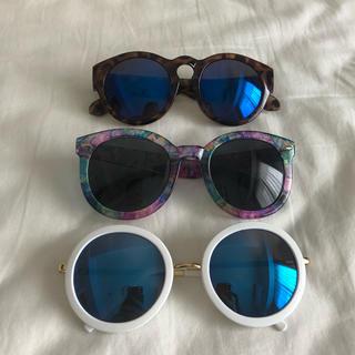 エイチアンドエム(H&M)のサングラス 3点セット(サングラス/メガネ)