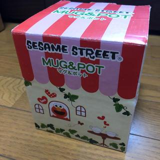 セサミストリート(SESAME STREET)の【未使用】セサミストリート マグ&ポット(グラス/カップ)