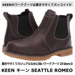 キーン(KEEN)の新品 KEEN キーン SEATTLE ROMEO ワークブーツ 27cm D(ブーツ)