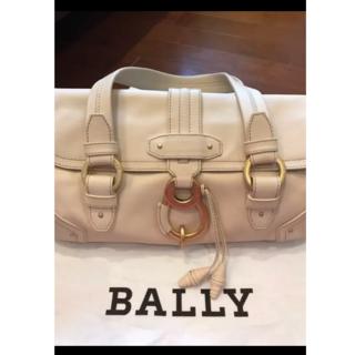 バリー(Bally)の美品 BALLY バリー レザー ハンドバッグ  ショルダーバッグ(ハンドバッグ)