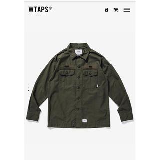 W)taps - wtaps 20ss BUDS LS SHIRT. COTTON.RIPSTOP
