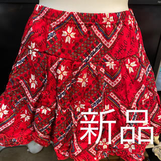 ピンクラテ(PINK-latte)の新品ピンクラテスカート定価3465円サイズXS(ミニスカート)