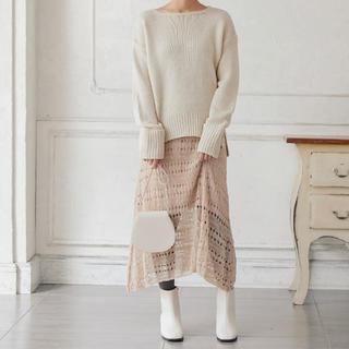 コウベレタス(神戸レタス)の神戸レタス 透かし編み スカート(ロングスカート)