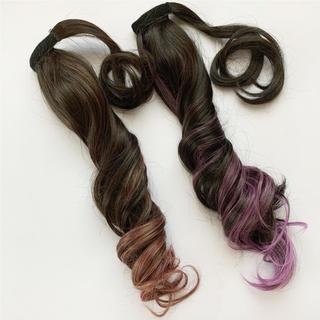 【Ys wig shop】2点セット ポニーテールウィッグ グラデーション(その他)