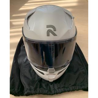 ヤマハ(ヤマハ)の美品 ヤマハ ヘルメット RPHA10PLUS  パールホワイト Mサイズ(ヘルメット/シールド)
