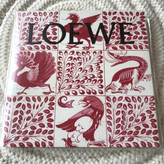 ロエベ(LOEWE)のSPUR 2020年1月号付録 LOEWEシール付きノート(ノート/メモ帳/ふせん)