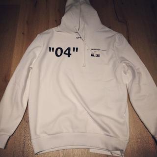 OFF-WHITE - 特別価格 オフホワイト パーカー 04 モナリザ