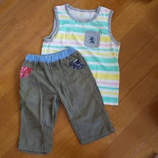イッカ(ikka)の専用★ショートパンツ&サイズ120タンクトップ&半ズボンセット(Tシャツ/カットソー)