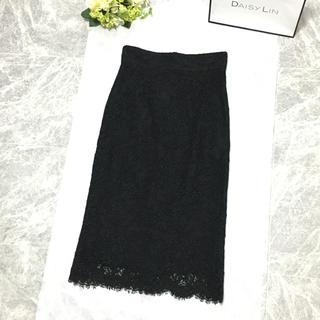 ドルチェアンドガッバーナ(DOLCE&GABBANA)の美品 ドルチェ DOLCE &GABBANA ドルカバ レース 刺繍 スカート(ひざ丈スカート)