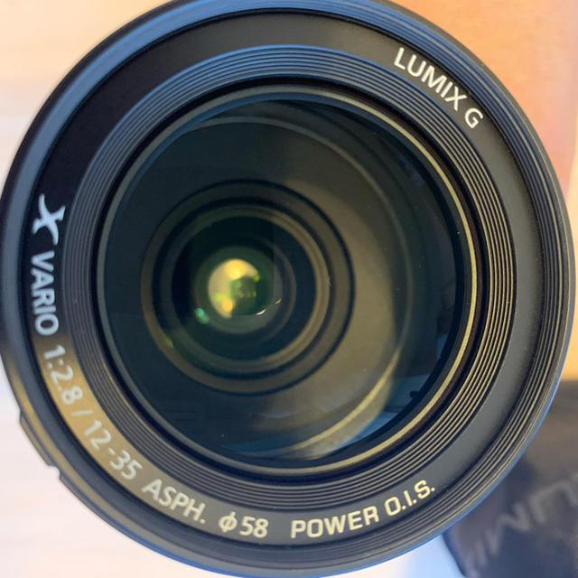Panasonic(パナソニック)のLumix  G X  12-35mm/F2.8 II H-HSA12035 スマホ/家電/カメラのカメラ(レンズ(ズーム))の商品写真