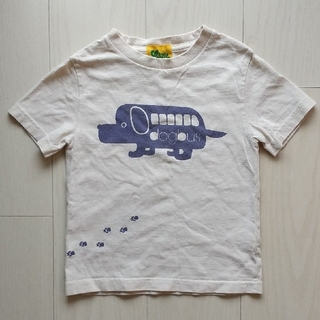 ランドリー(LAUNDRY)のLAUNDRY Tシャツ キッズS(120) ベージュ(Tシャツ/カットソー)