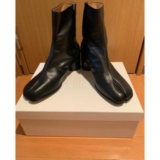 マルタンマルジェラ(Maison Martin Margiela)の限定出品☆正規未使用品 maison margiela 足袋ブーツ ブラック(ブーツ)