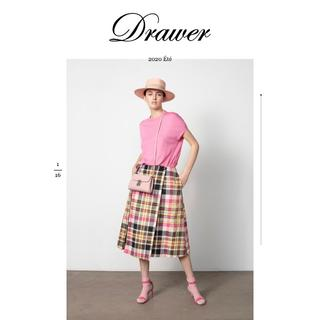 Drawer - Drawer ドゥロワー  タータンチェックタックスカート