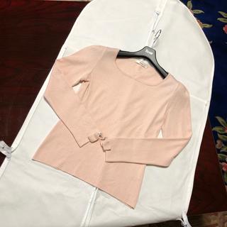 ルネ(René)の売り切り⭐︎ルネ⭐︎お袖リボントップス未使用(カットソー(長袖/七分))