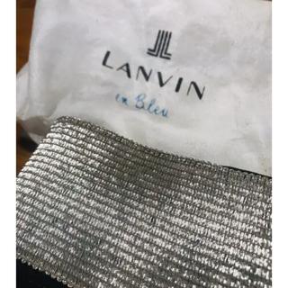 ランバンオンブルー(LANVIN en Bleu)のランバン オン ブルーの定番のゴムベルト(ベルト)