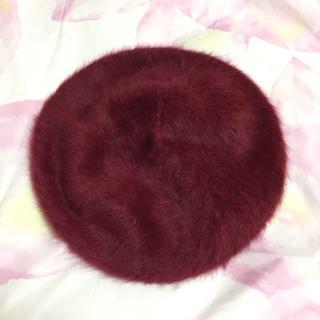 シマムラ(しまむら)の【新品未使用】しまむら シャギー ベレー帽(ハンチング/ベレー帽)