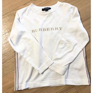 バーバリー(BURBERRY)のバーバリー ロンドン 長袖Tシャツ キッズ 男女兼用 シンプル (Tシャツ/カットソー)
