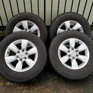 トヨタ - ランドクルーザープラド 150系 純正ホイール+タイヤ 4本セット