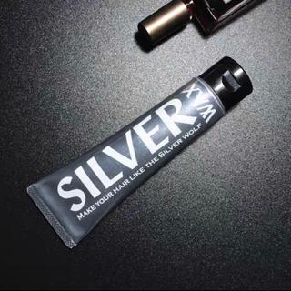 シルバーワックス silver wax シルバーアッシュ silver ash(ヘアワックス/ヘアクリーム)
