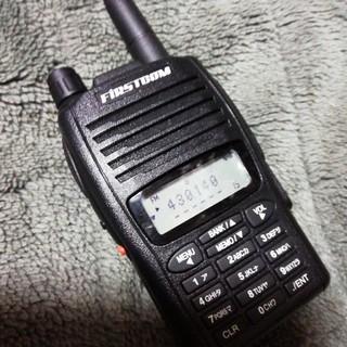 無線機 FIRSTCOM 通電画面表示確認 受信不能 ジャンク品 わりと綺麗(アマチュア無線)
