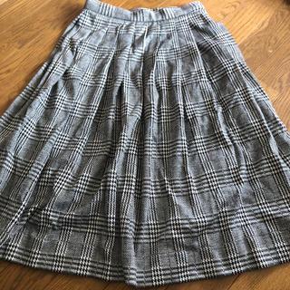 エモダ(EMODA)のEMODA ハイウエスト プリーツスカート(ひざ丈スカート)