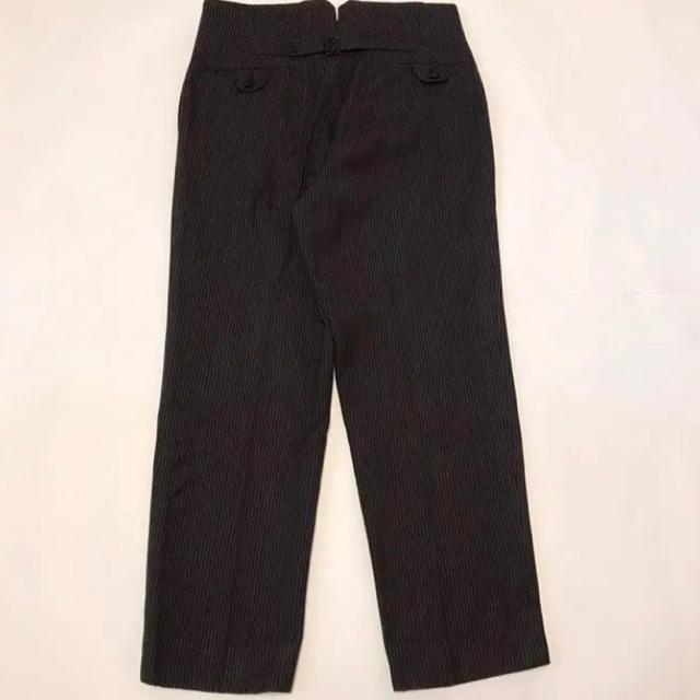 Paul Harnden(ポールハーデン)の⑤ 50's vintage French フレンチワーク ブラックストライプ メンズのパンツ(ワークパンツ/カーゴパンツ)の商品写真
