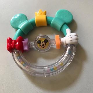 ディズニー(Disney)のベビー 歯固め おもちゃ ディズニー ミッキー ミニー 男の子 女の子 ラトル(おもちゃ/雑貨)
