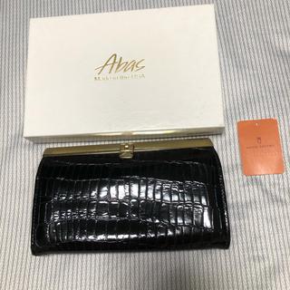 ユナイテッドアローズ(UNITED ARROWS)のAbas クロコ型押しウォレット(財布)