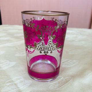 グラス ピンク(グラス/カップ)
