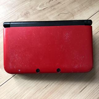 ニンテンドー3DS(ニンテンドー3DS)のニンテンドー3DS LL メタリックレッド(携帯用ゲーム機本体)