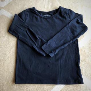 ニシマツヤ(西松屋)のCherokee シンプルブラックロンT 100㎝(Tシャツ/カットソー)