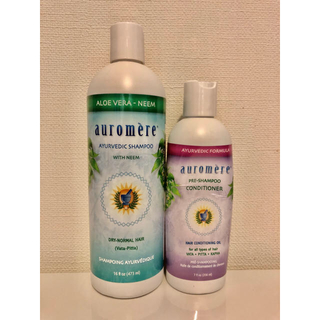 auromere オーロメア シャンプー&コンディショニングオイルセット