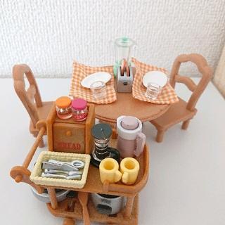 EPOCH - シルバニアファミリー キッチン・家電セット シルバニア  おもちゃ 食べ物 廃盤