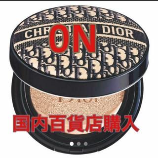 Christian Dior - 【超人気】ディオール 限定 ロゴマニア クッションファンデ  0N