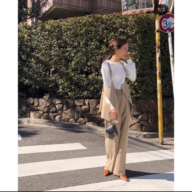 Ameri VINTAGE(アメリヴィンテージ)のAmeri VINTAGE☆MARLENE SET UP PANTS レディースのレディース その他(セット/コーデ)の商品写真