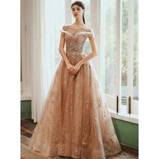 イブニングドレス ロング エレガント 人気上昇 編み(ウェディングドレス)