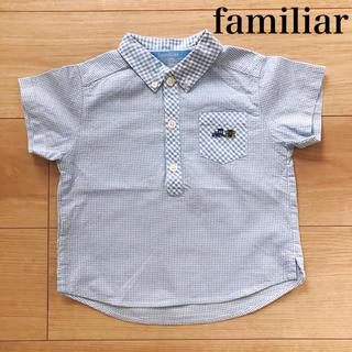 ファミリア(familiar)のファミリア ポロシャツ 90(ブラウス)