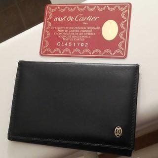 カルティエ(Cartier)の美品‼️カルティエ名刺入れ 最終値下げ6400→5400→4400円‼️(名刺入れ/定期入れ)