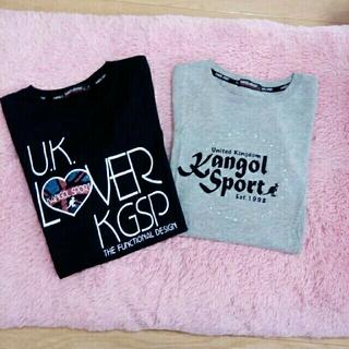 カンゴール(KANGOL)のカンゴール T シャツ 2枚L サイズ(Tシャツ(半袖/袖なし))
