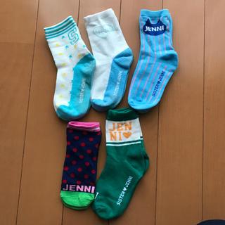 JENNI - JENNI 靴下USED5足セット
